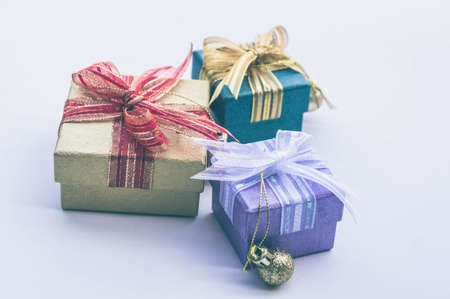 gifts box on background and copy space