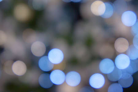 bokeh night light , party in the night and Festival day, abstract bokeh blue and black color background