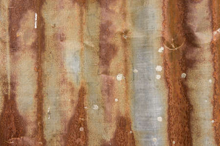 zinc rusty background, texture old zinc rust background