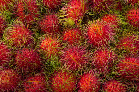 Thai rambutan fruit flavors