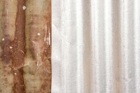 zinc rusty background, texture old zinc rust background