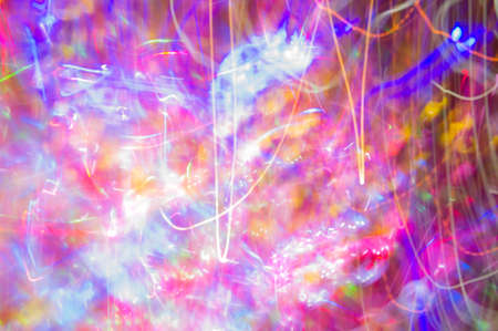 Abstract night light color speed ,color party style Stock Photo
