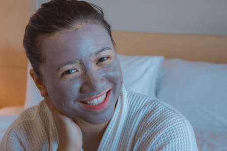Girls happy time of Face Mask pad