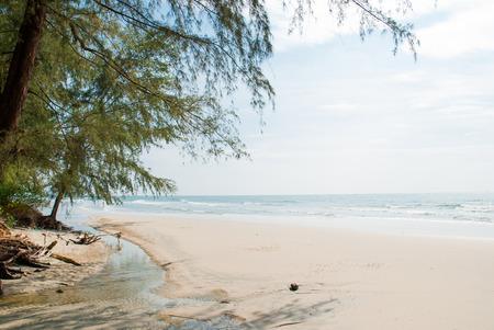 nice beach in trat,Thailand. photo