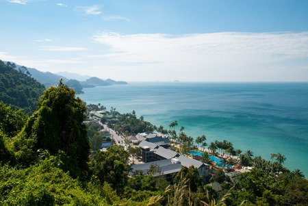 Sea view at Koh Chang,Trat Thailand  photo