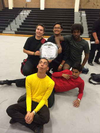 First in my high school history to get first place with a score of 80.30 for our Drumline