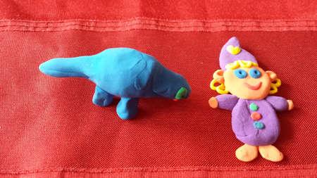 figurines: Plasticine figurines