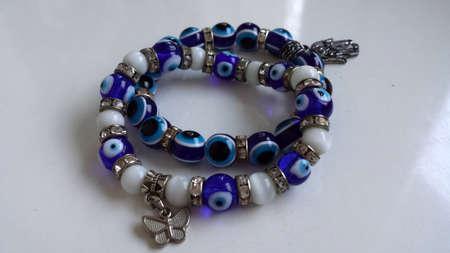 bangles hand: bracelets Stock Photo