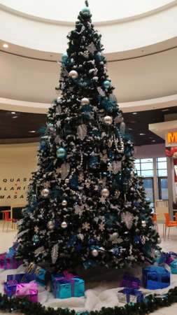 large tree: Gifts under the Christmas tree