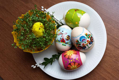 watercress: Easter eggs and watercress