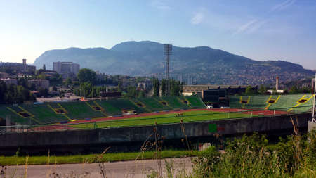 Olympic Stadium Kosevo in Sarajevo, Bosnia and Herzegovina