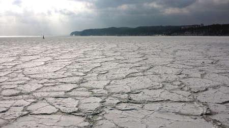 Frozen bay Фото со стока