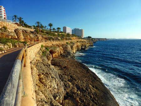 Rocky coast of Majorca (Mallorca), Spain