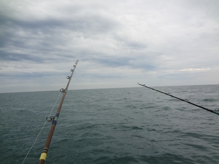 rocky point: Fishing with friends at Rocky Point
