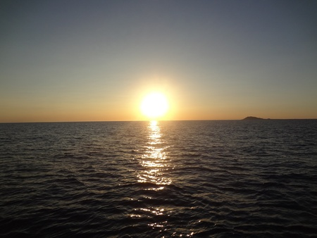 rocky point: Beautiful Sunset at Rocky Point, Mexico
