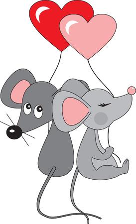 souris: Mouses vecteur Illustration