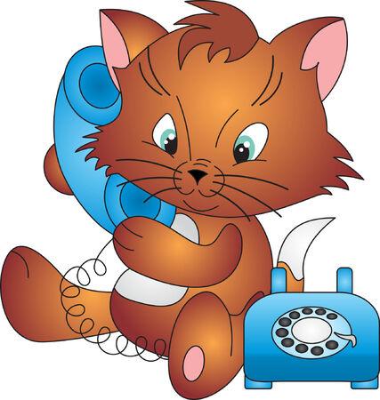 Cat vector Stock Vector - 5029356
