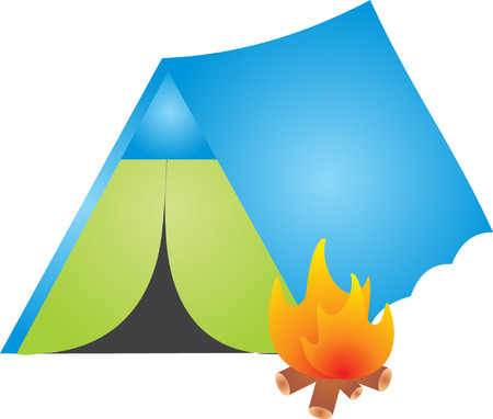 Camp vector Stock Vector - 5505332