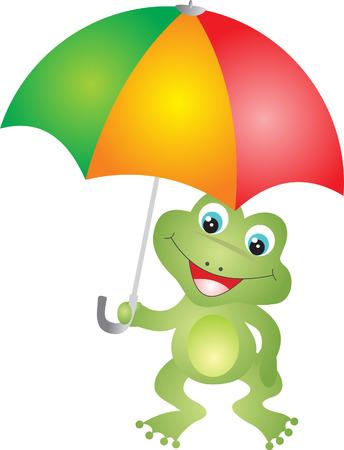 Frog vector Stock Vector - 5505223