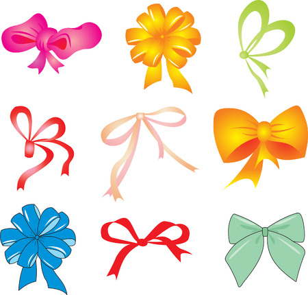 ribbon vector set: Ribbon set vector  Illustration