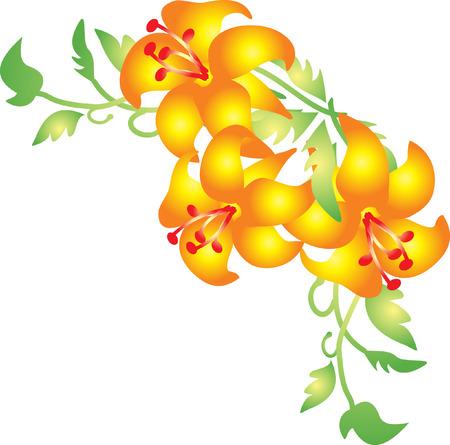 Flower vector Stock Vector - 5505224