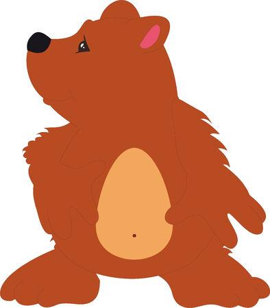 Bear vector Vector