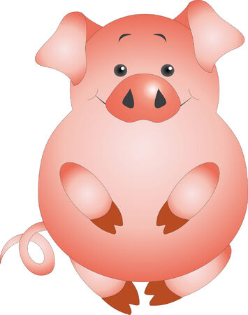 Pig vector Vector