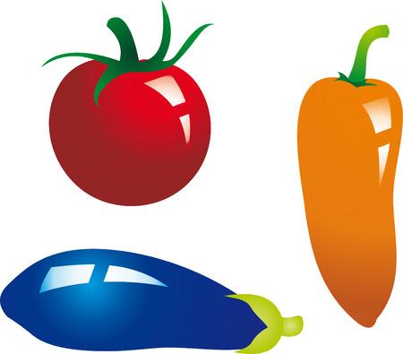 ingridients: Vegetables vector