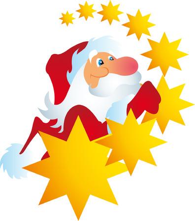 Santa vector  Vector