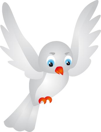 m�ve: Vogel  Illustration