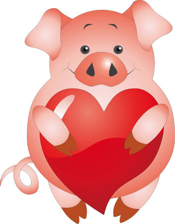 Pig Stock Vector - 6245971