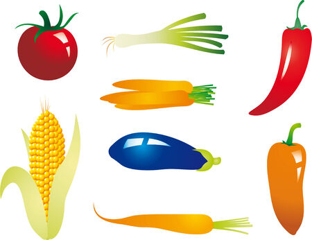 cayenne pepper: Vegetable Illustration