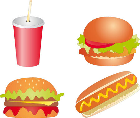 Fast Food Stock Vector - 6245940