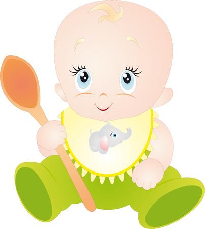 Baby  Stock Vector - 6614515