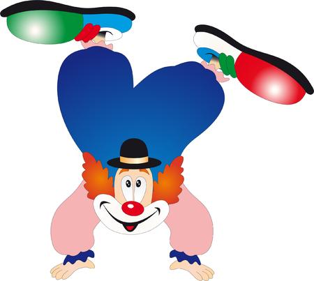 performers: Clown vector