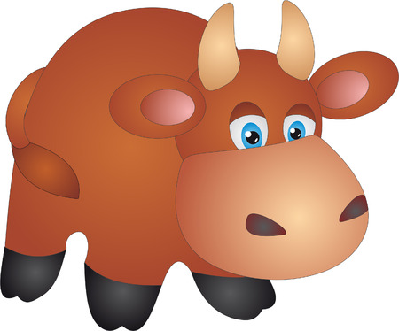 Cow Stock Vector - 7095171