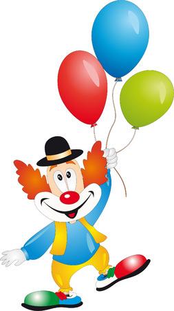 Clown  Ilustrace