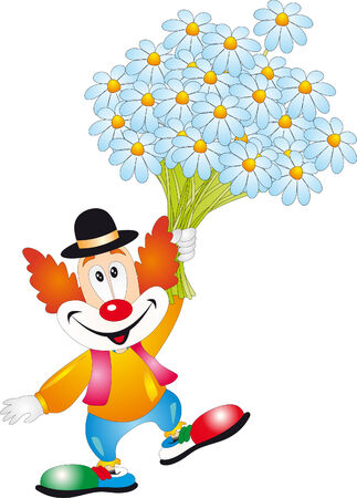 Clown  Stock Vector - 7095177