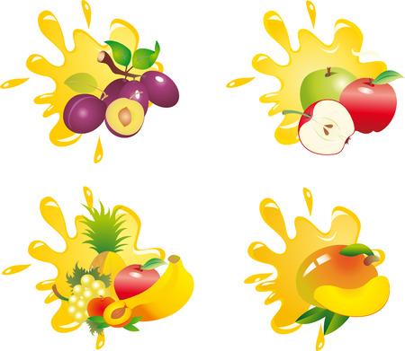 mango juice: Juice
