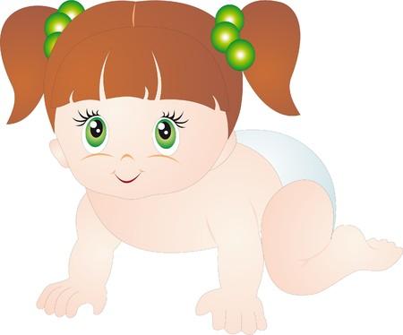 Baby vector Stock Vector - 8105415