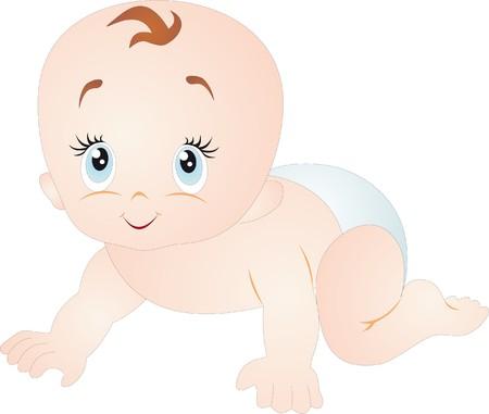 nenes jugando: Vector de beb�  Vectores