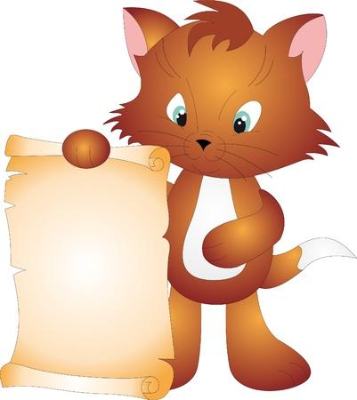 persian cat: Cat vector