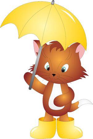 hurricane weather: Cat vector