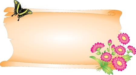 spring roll: Blank vector