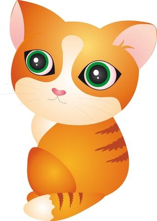 Cat vector Stock Vector - 8923533