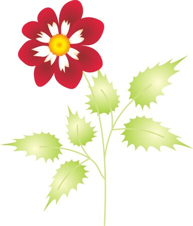 Flower vector Stock Vector - 9174955