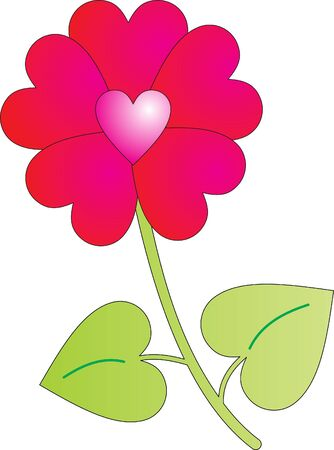 Flower vector Stock Vector - 9181670