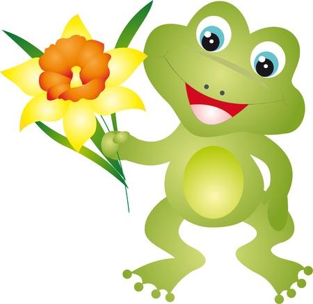 tadpole: Frog vector