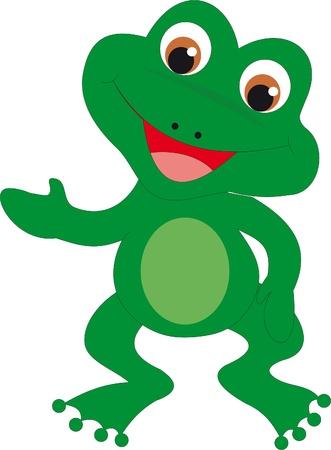 cute frog: Frog vector
