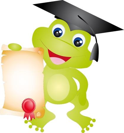 alumnus: Frog vector